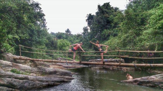 Yoga waterfall chiang mai